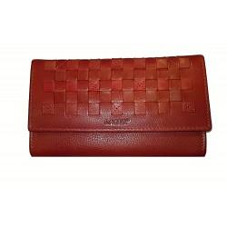 Dámská kožená luxusní peněženka Lagen 11230 červená