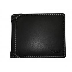 Pánská kožená peněženka Lagen 511462 černá