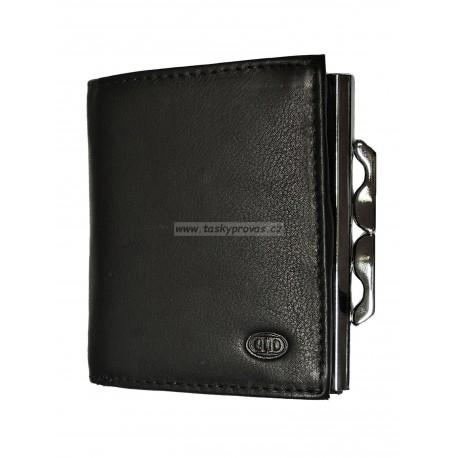 Dámská kožená peněženka DD 1624-01 černá