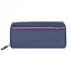 Dámská kožená peněženka Always Wild N512-GV modrá