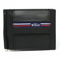 Kožená peněženka dolarka Always Wild N569-GV černá