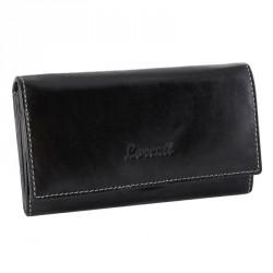 Dámská kožená peněženka Lorenti RD-08-BAL černá