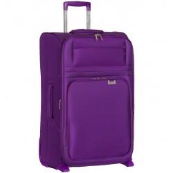 Cestovní kufr AEROLITE T-9515/3-M - fialová