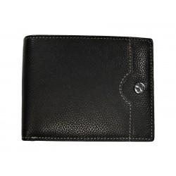 Pánská kožená peněženka Segali 755.139.2007 black/blue