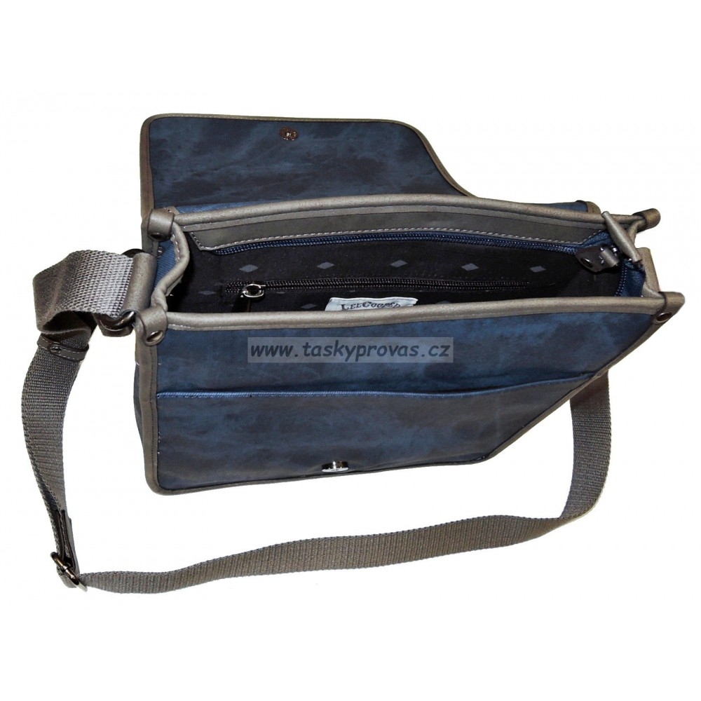 3e0fd44d8ba77 Taška přes rameno Lee Cooper LC-955106 blue