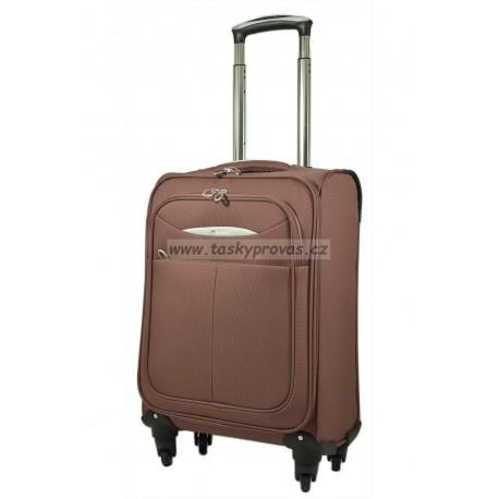 Cestovní kufr Airtex 6324/60 M hnědý