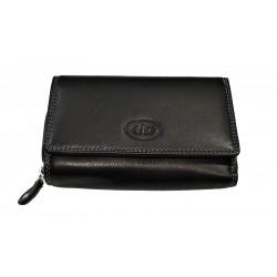 Dámská kožená peněženka DD D 41-01 černá