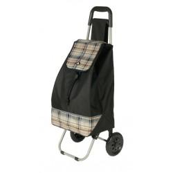 Nákupní taška na kolečkách Dielle CARR2-01 černá