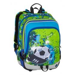Školní batoh Bagmaster ALFA 8 C GREEN/BLUE/BLACK