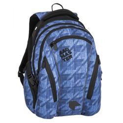 Studentský batoh Bagmaster BAG 8 B BLUE/BLACK
