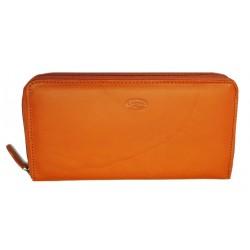 Dámská kožená luxusní peněženka Katana 553009-14 orange