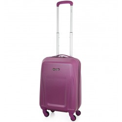 Kabinové zavazadlo CITIES T-125/3-S ABS - fialová