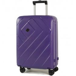 Cestovní kufr ROCK TR-0146/3-M PP - modrofialová