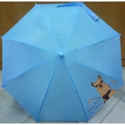Deštník dětský vystřelovací hůlkový Sacha 18 sv.modrý