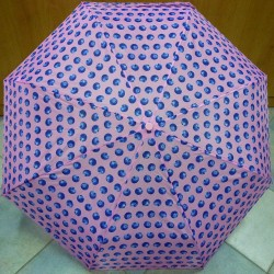 Deštník skládací Perletti 25992 borůvky