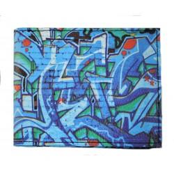 Pánská peněženka s barevným potiskem 9203-19