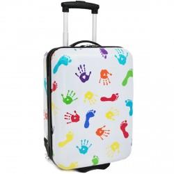 Kabinové zavazadlo Snowball 65218/50 bílá