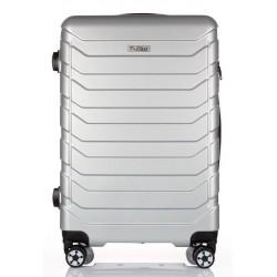 Cestovní kufr T-Class 618/70-L sříbrná