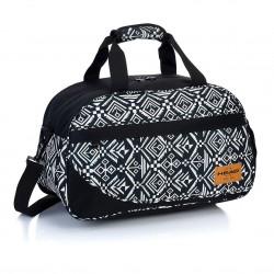 HEAD sportovní taška HD - 128 černobílá
