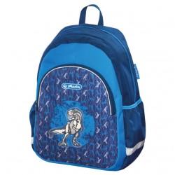 HERLITZ batůžek předškolní Dino modrý 50014736