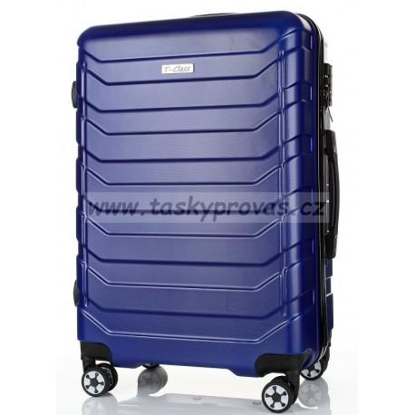 Cestovní kufr T-Class 618/50-S matná modrá