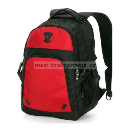 Batoh Suissewin SN 9017R černá/červená