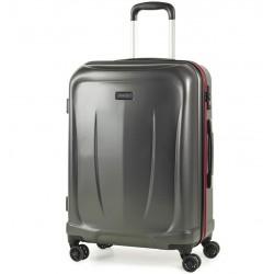 Cestovní kufr ROCK TR-0165/3-M ABS - charcoal