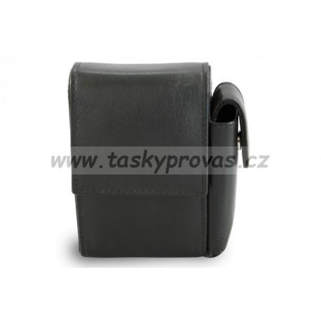 Arwel kožené pouzdro na cigarety - krátké 611-0307 černé