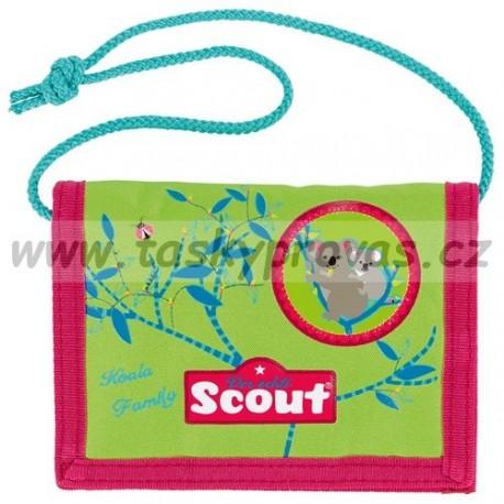Peněženka na krk Scout koala 7441