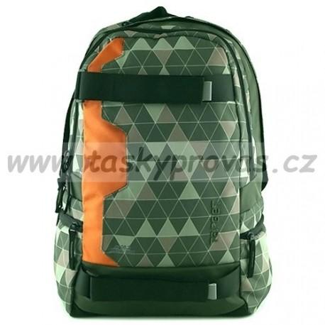 Target Mechanical batoh 23971 khaki/oranž.