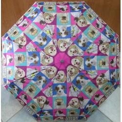 Deštník skládací Perletti 25902 Love Dogs