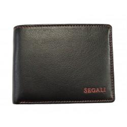 Pánská kožená peněženka Segali SG-1606E black