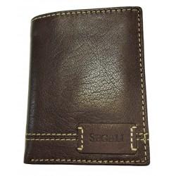 Pánská kožená peněženka Segali 70082 brown