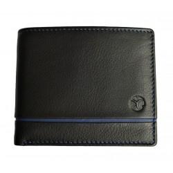 Pánská kožená peněženka Segali 1806 black/dark