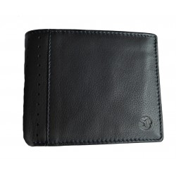 Pánská kožená peněženka Segali 86100A black/dark