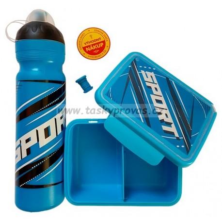 SET Sport modrý 1 l + box