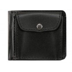 Greisi kožená peněženka dolarka D4-60 černá