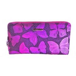 Dámská kožená peněženka Lorenti 76119NBF růžová