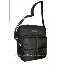Sportovní taška ENRICO BENETTI 54441 černá/červená