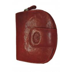 Dámská kožená peněženka DD D191-07 vínová