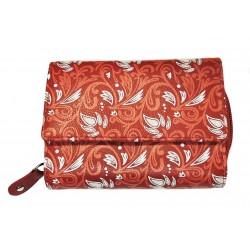 Dámská kožená peněženka DD X 14-88 červená