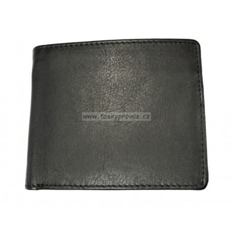 Pánská kožená peněženka DD 06-01 černá