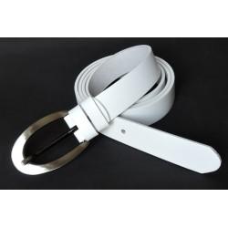 Opasek dámský kožený Penny Belts 171-00 bílý
