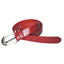 Opasek dámský kožený Penny Belts 171-93 červený