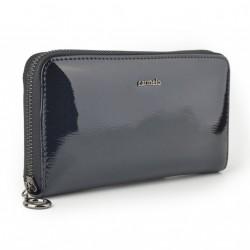 Carmelo dámská kožená peněženka 2111 G antracitová