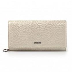 Carmelo dámská kožená peněženka 2100 H krémová