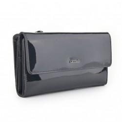 Carmelo dámská kožená peněženka 2103 G antracitová