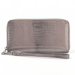 Carmelo dámská kožená peněženka 2102 A šedá