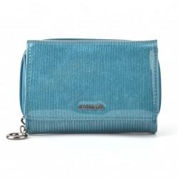 Carmelo dámská kožená peněženka 2105 F akvamarínová