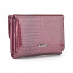 Carmelo dámská kožená peněženka 2106 A lila